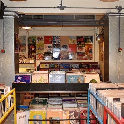 Record stores in Athens: The Basement & Plan 59