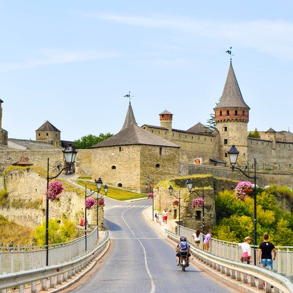 The marvel of Khmelnytskyi: Kamianets-Podilskyi Fortress