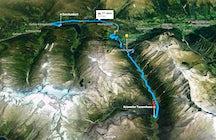Una carretera sinuosa que conecta Salzburgo con el Tirol