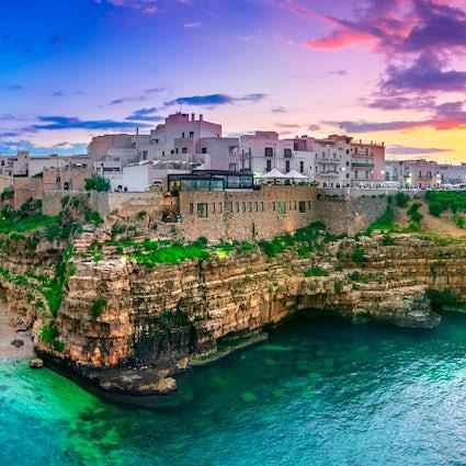 Polignano a Mare, het juweel van Apulië, is een pareltje van de stad.