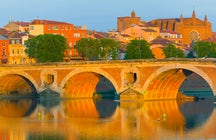 Toulouse, French Pink city, perfect spot for a short break