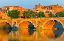 Toulouse, ciudad rosa francés, lugar perfecto para un breve descanso