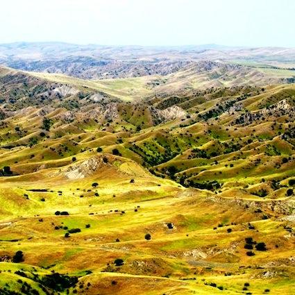 La Reserva Natural de Vashlovani - un paisaje similar al de África