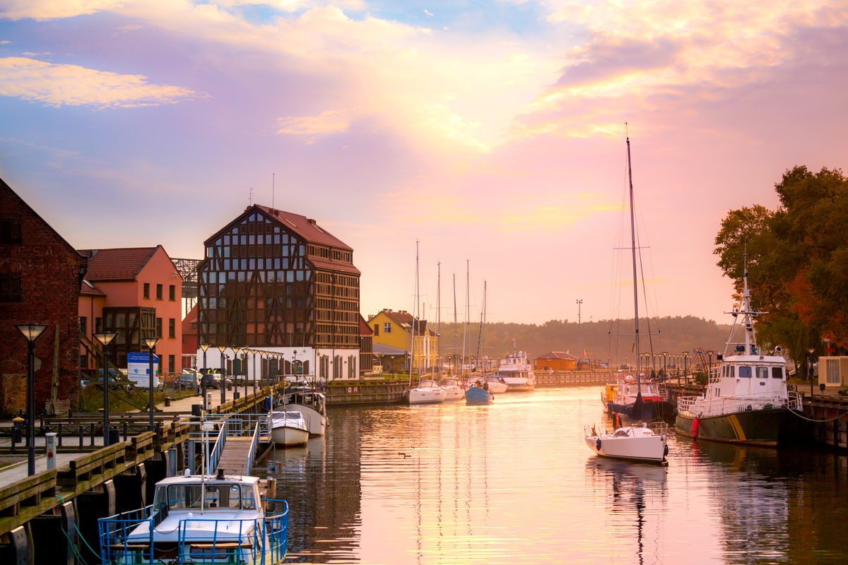 A legendary port city of Lithuania: Klaipėda