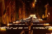 Quand 20.000 bougies illuminent Liège, ville médiévale belge!