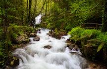 Persiguiendo cascadas en el norte de Portugal