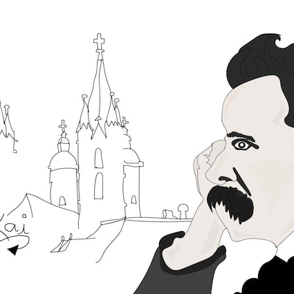 ​Nobody cares about Nietzsche's hometown
