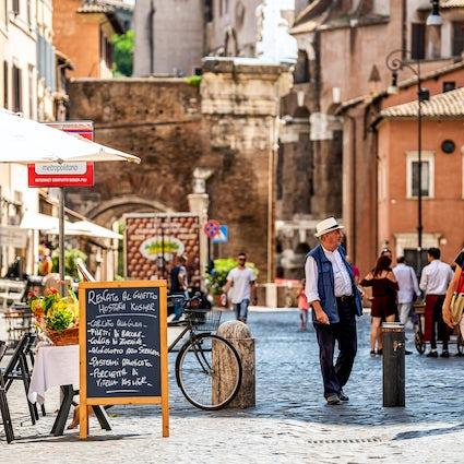 Die ikonischsten Viertel Roms: das jüdische Ghetto