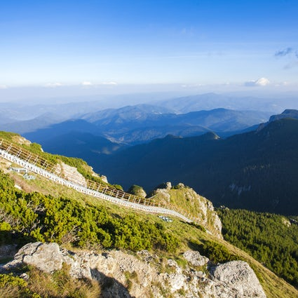 Climb the staircase to paradise in the Ceahlău Mountains
