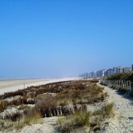 Eine Woche in De Panne, westliches Ende der Belgischen Küste