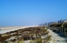 One week in De Panne, west end of the Belgian coast