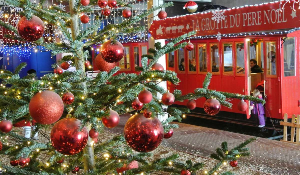 Enjoy the holiday spirit in Montreux Christmas market