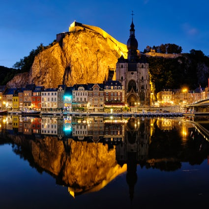 The Citadel of Dinant, the Pearl of the Meuse Valley