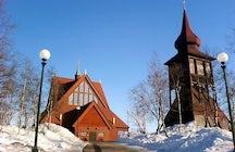 Kiruna Stadt zieht um
