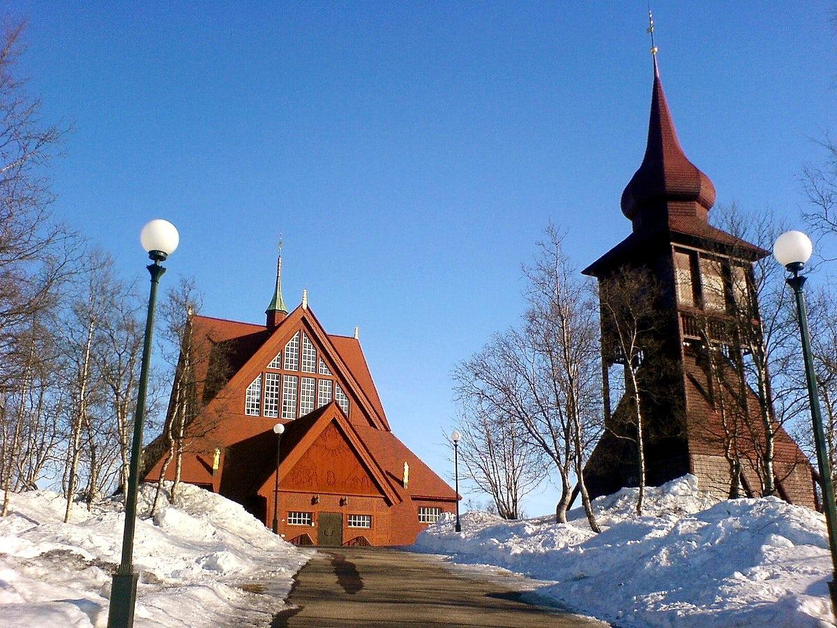 Kiruna city will move