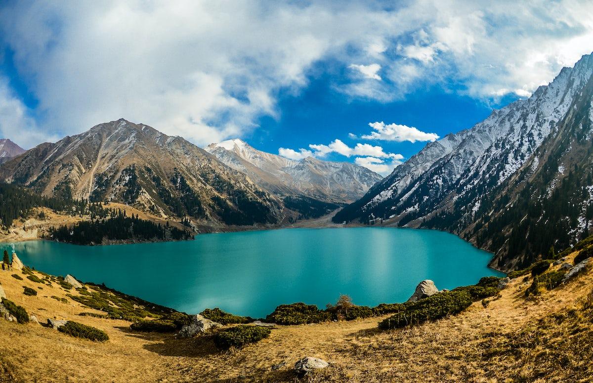 Small but Big Almaty Lake