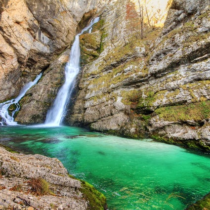 Savica Waterfall – a beautiful love story
