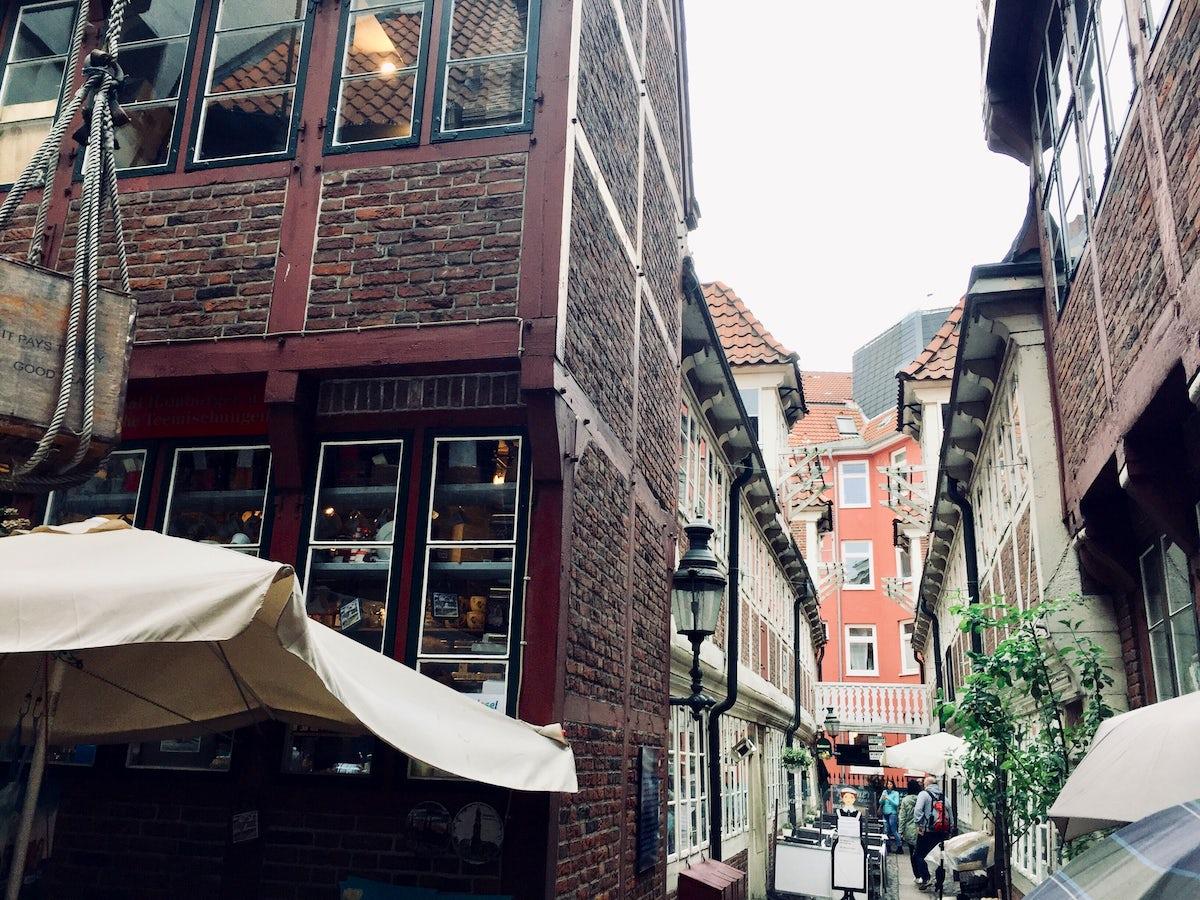 Kammeramtstuben: A street with Hanseatic tradition