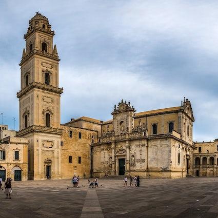 Piazzas en Italia: Piazza del Duomo, Lecce