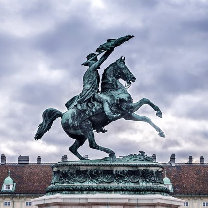 Heldenplatz in Vienna: the square of heroes and cowards