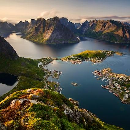 Un état méditatif appelé Lofoten, Norvège.