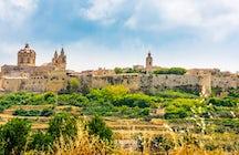 Mdina: Die stille Stadt Maltas