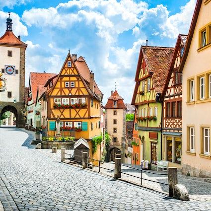 Experimenta la época medieval en Rothenburg