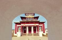 A Buryat temple: national pride of all times