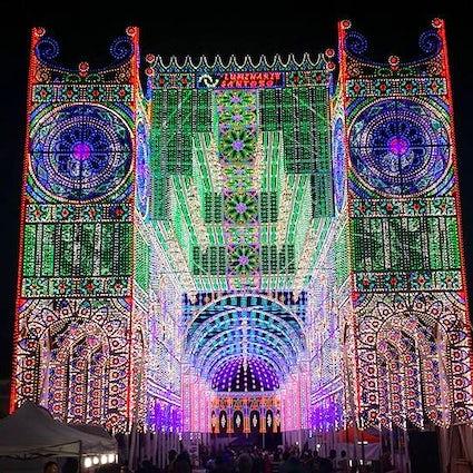 Festa di Santa Domenica - the most spectacular light festival in Italy