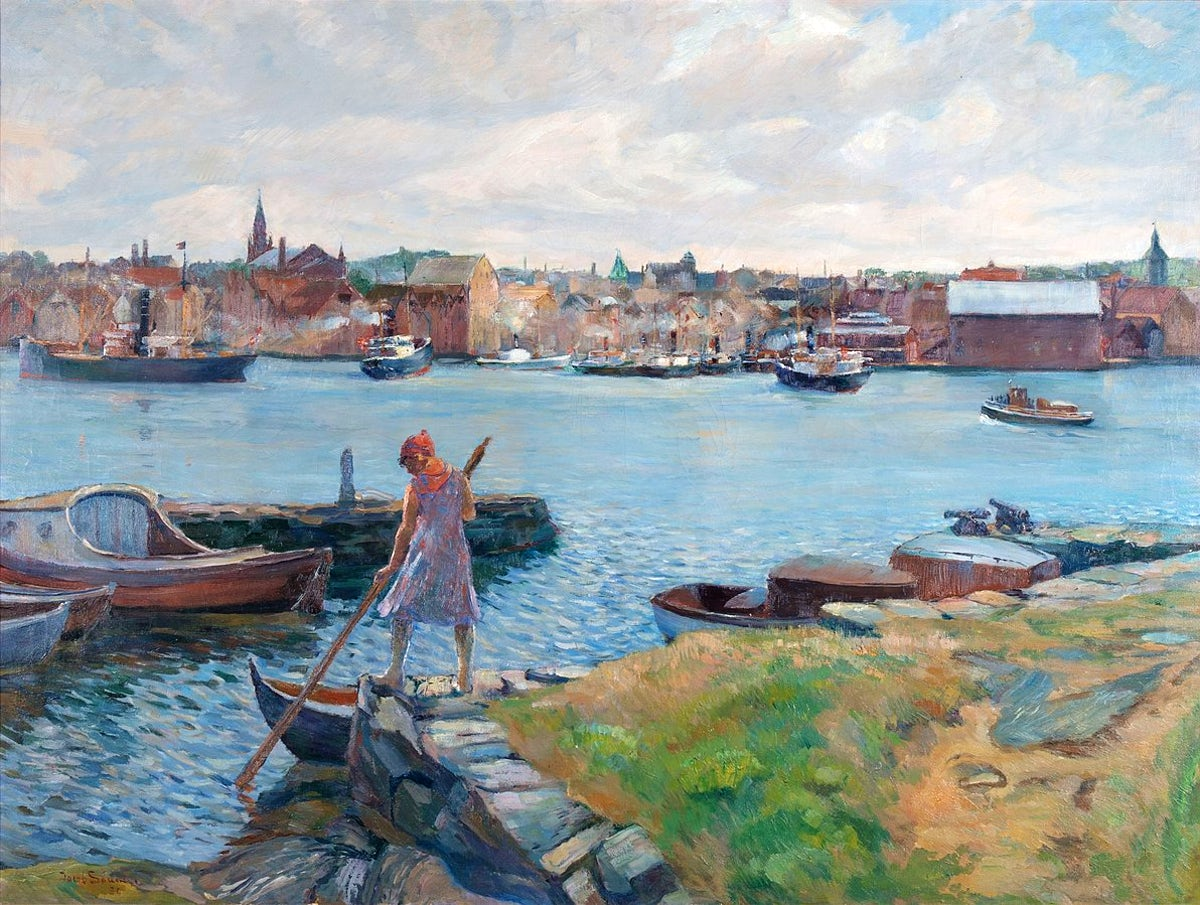 Cover picture © Credits to Wikipedia/Jacob Kielland Sømme 1930