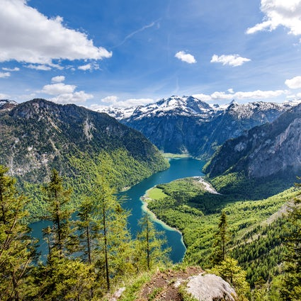 National parks in Germany; the grand southern tour