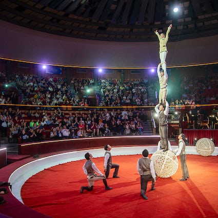 A disappearing cultural event: Budapest circuses