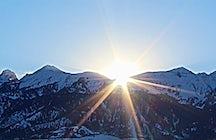 Exploring Almaty mountains
