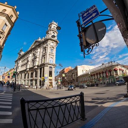 Five Corners Square: un lugar icónico no oficial en San Petersburgo