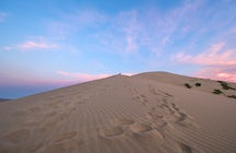 A mysterious singing dune of Kazakhstan