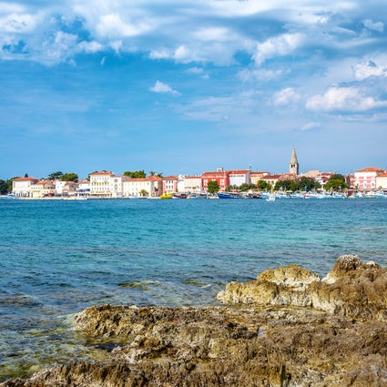 Poreč: two steps for first-time visitors