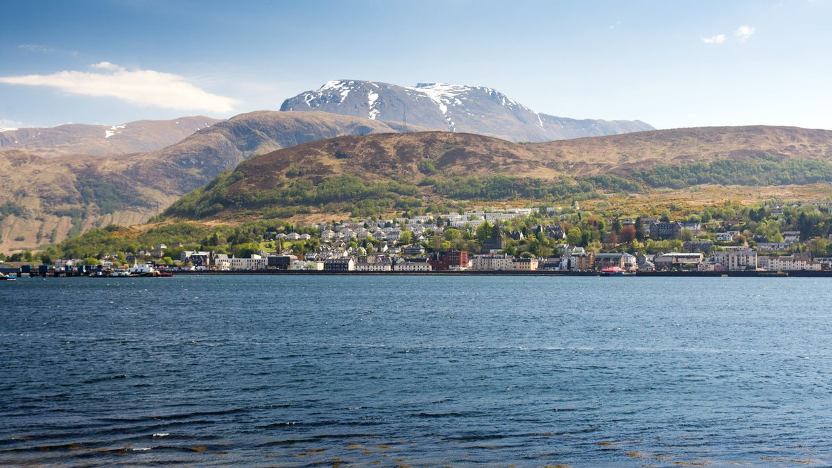 Fort William, the outdoor capital of the UK