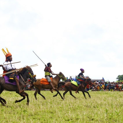 Tribal tournament: Pasola Festival in Sumba