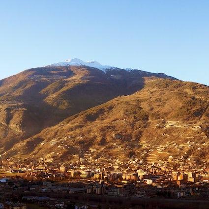 Aosta: Una mini Roma en medio de los Alpes