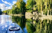 Discover Hamburg from a canoe