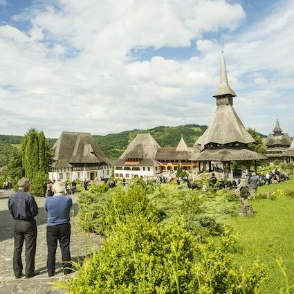 A wood treasure in Maramureș - Bârsana Monastery