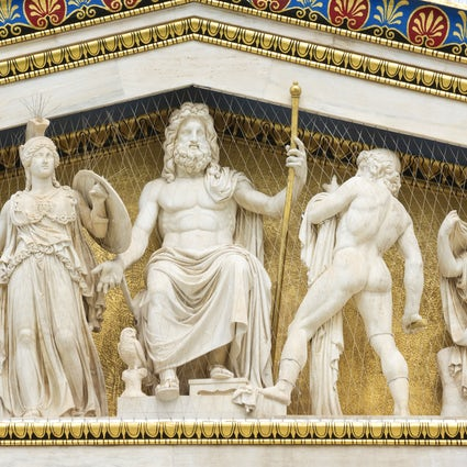 Een reis naar mythologie; Athene & omgeving