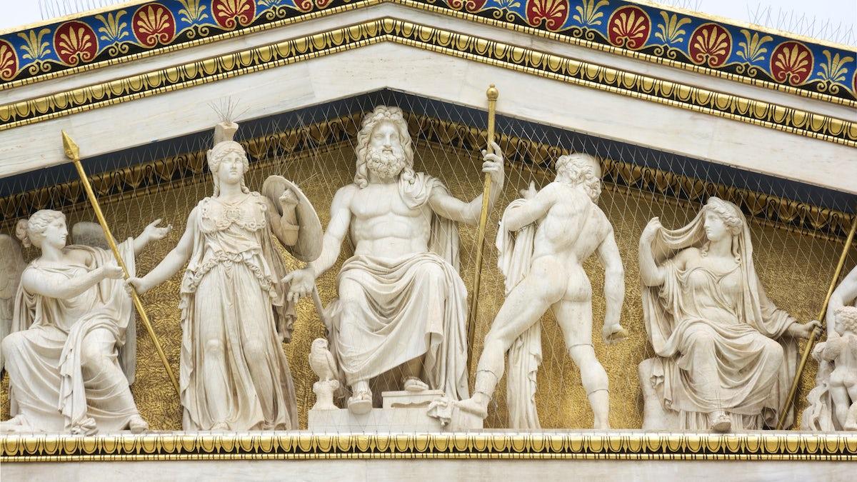 A trip into mythology; Athens & surroundings
