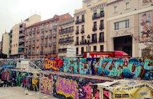 El Campo de la Cebada- ¡Un botellón urbano!