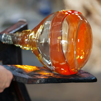 The prestigious glass making industry in Czechia