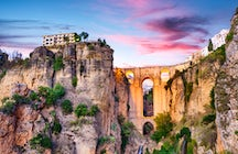 Ronda and its amazing Puente Nuevo, Malaga