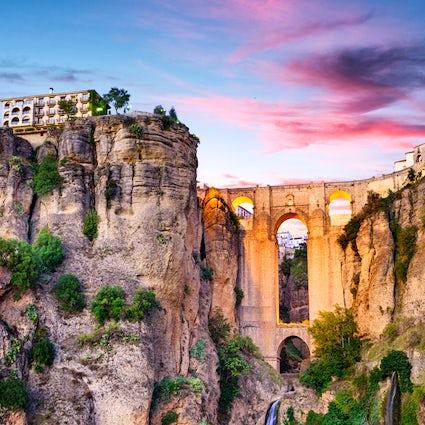 Ronda y su impresionante Puente Nuevo, Málaga