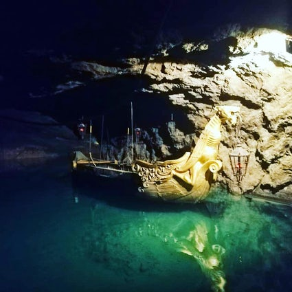 The biggest underground lake in Europe – the Seegrotte