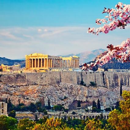 Atenas, vista desde arriba