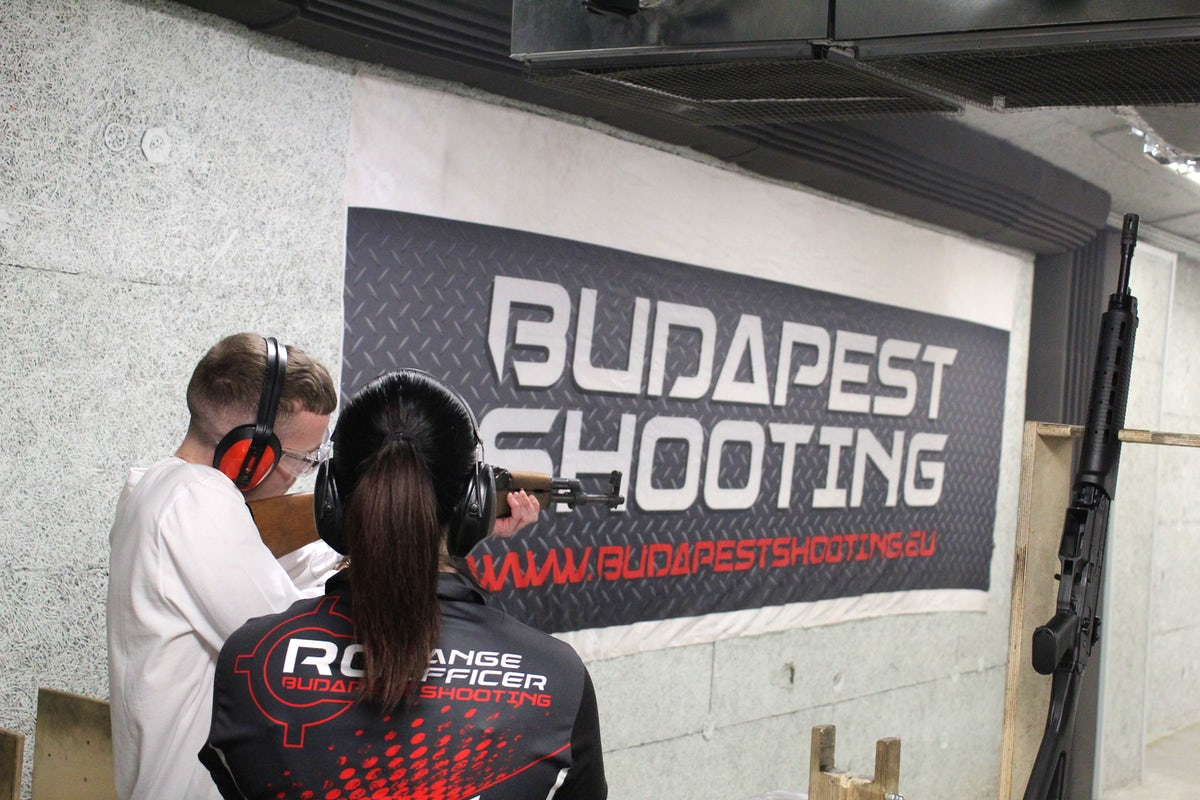 Discover the soldier in you at Budapest Shooting club